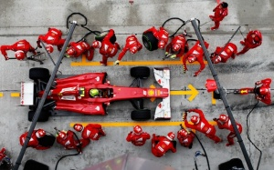 bigpreview_Ferrari Pitstop F1 - Top View