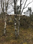 Kors av tre. Foto: Vidar M